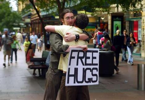 Free Hugs - Juan Mann - video dailymotion